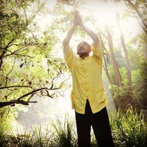 Liu in sunlight